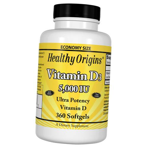 Vitamin D3 Healthy Origins