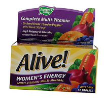 Alive! Women's Energy Multivitamin-Multimineral