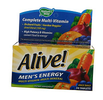 Alive! Men's Energy Multivitamin-Multimineral
