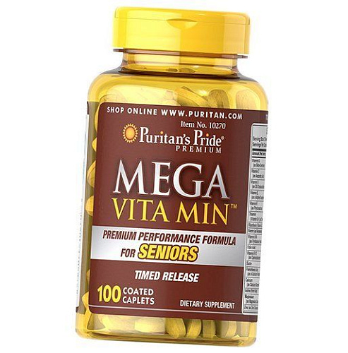 Mega Vita Min Multivitamin for Seniors