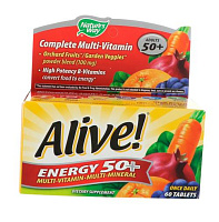 Alive! Energy 50+ Multivitamin-Multimineral