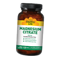 Магний Цитрат, Magnesium Citrate, Country Life