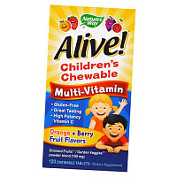 Alive! Children's Chewable Multi-Vitamin купить