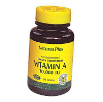 Витамин А, Vitamin A 10000, Nature's Plus