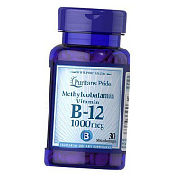 Витамин В12, Метилкобаламин, Methylcobalamin Vitamin B-12 1000, Puritan's Pride