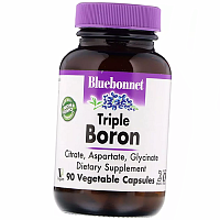 Тройной Бор, Triple Boron, Bluebonnet Nutrition