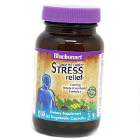 Комплекс для снятия стресса, Stress Relief, Bluebonnet Nutrition