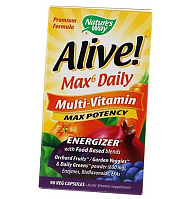 Alive! Max6 Daily Multi-Vitamin