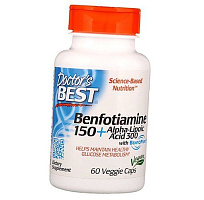 Benfotiamine plus Alpha-Lipoic Acid Doctor's Best