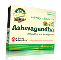 Gold Ashwagandha 300 от магазина Foods-Body.ua