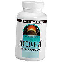 Витамин А, Active A, Source Naturals